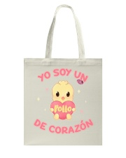 Soy un POLLO de corazon Tote Bag thumbnail
