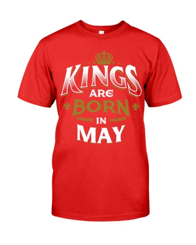 Born Birthday Bday Kings May tee