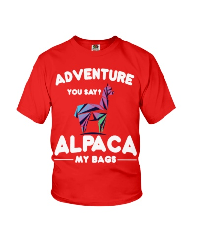 Adventure you say Alpaca my bags vacation