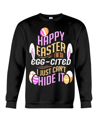 Womens Happy Easter - Excited