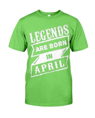 Legends Born in April
