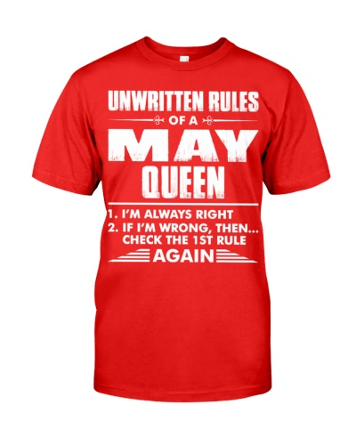 Unwritten Rules Of A May Queen