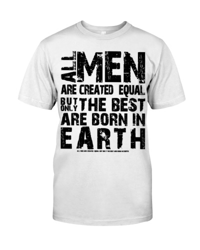 all man are equal earth gift