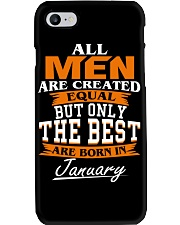ONLY THE BEST ARE BORN IN JANUARY Phone Case thumbnail