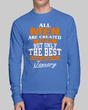 ONLY THE BEST ARE BORN IN JANUARY Long Sleeve Tee lifestyle-unisex-longsleeve-front-1