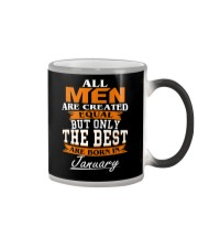 ONLY THE BEST ARE BORN IN JANUARY Color Changing Mug thumbnail