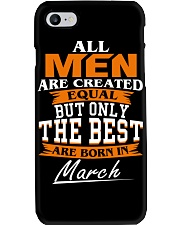 ONLY THE BEST ARE BORN IN MARCH Phone Case tile