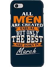 ONLY THE BEST ARE BORN IN MARCH Phone Case i-phone-7-case