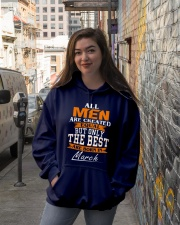 ONLY THE BEST ARE BORN IN MARCH Hooded Sweatshirt lifestyle-unisex-hoodie-front-1