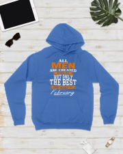 ONLY THE BEST ARE BORN IN FEBRUARY Hooded Sweatshirt lifestyle-unisex-hoodie-front-8