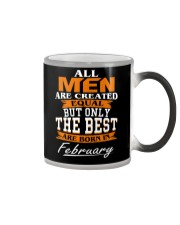 ONLY THE BEST ARE BORN IN FEBRUARY Color Changing Mug tile