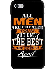 ONLY THE BEST ARE BORN IN APRIL Phone Case thumbnail