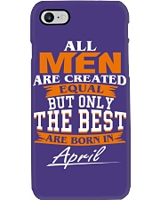 ONLY THE BEST ARE BORN IN APRIL Phone Case i-phone-7-case