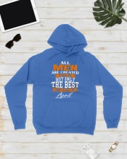 ONLY THE BEST ARE BORN IN APRIL Hooded Sweatshirt lifestyle-unisex-hoodie-front-8