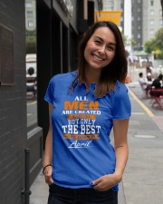 ONLY THE BEST ARE BORN IN APRIL Ladies T-Shirt lifestyle-women-crewneck-front-5