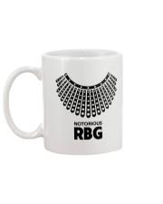 Notorious RBG Necklace Mug back