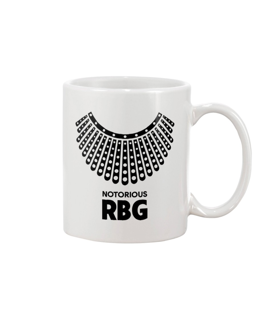 Notorious RBG Necklace Mug