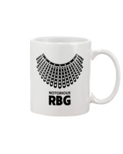 Notorious RBG Necklace Mug front