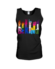 Be Kind Hand Signs LGBT Unisex Tank thumbnail