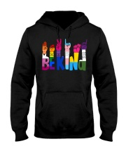 Be Kind Hand Signs LGBT Hooded Sweatshirt thumbnail