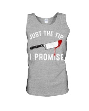 Just The Tip I Promise Unisex Tank tile
