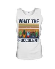 What The Fucculent Unisex Tank thumbnail