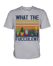 What The Fucculent V-Neck T-Shirt thumbnail