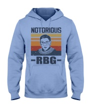 Notorious RBG Hooded Sweatshirt tile