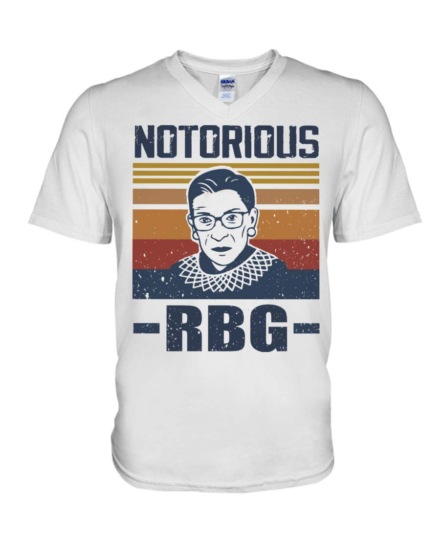 Notorious RBG V-Neck T-Shirt