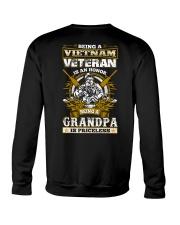 Vietnam Veteran Grandpa Crewneck Sweatshirt thumbnail