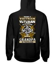 Vietnam Veteran Grandpa Hooded Sweatshirt thumbnail