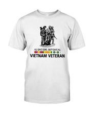 All Gave Some 58479 Gave All Vietnam Veteran Classic T-Shirt thumbnail