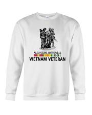 All Gave Some 58479 Gave All Vietnam Veteran Crewneck Sweatshirt thumbnail