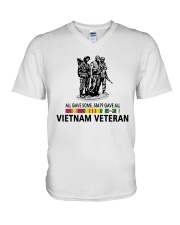 All Gave Some 58479 Gave All Vietnam Veteran V-Neck T-Shirt thumbnail