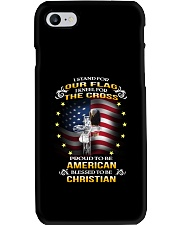 I Stand for Our Flag Phone Case thumbnail