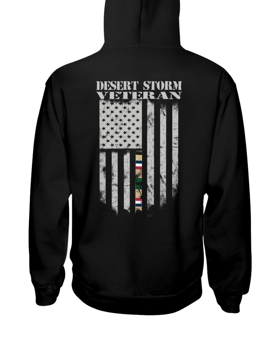 Desert Storm Veteran Flag - US Army Hooded Sweatshirt