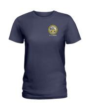 Desert Storm Veteran Flag - US Army Ladies T-Shirt thumbnail