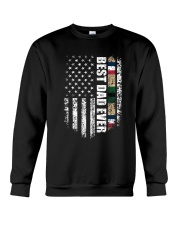 Best Dad Ever Desert Storm Veteran Crewneck Sweatshirt thumbnail