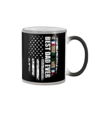 Best Dad Ever Desert Storm Veteran Color Changing Mug tile