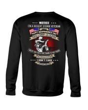 God Bless America Desert Storm Veteran Crewneck Sweatshirt thumbnail