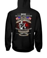 God Bless America Desert Storm Veteran Hooded Sweatshirt thumbnail