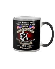 God Bless America Desert Storm Veteran Color Changing Mug thumbnail