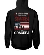 The Only Thing Vietnam Veteran Grandpa Hooded Sweatshirt thumbnail