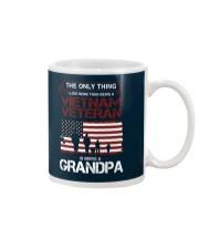 The Only Thing Vietnam Veteran Grandpa Mug thumbnail