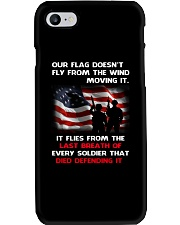 Our Flag Doesn't Fly from the wind moving it Phone Case thumbnail