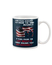 Our Flag Doesn't Fly from the wind moving it Mug thumbnail