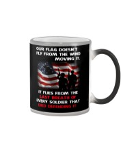 Our Flag Doesn't Fly from the wind moving it Color Changing Mug thumbnail