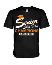 SENIOR skip day cham org V-Neck T-Shirt thumbnail