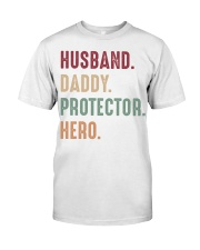 Husband Daddy Protector Hero - 1 DAY LEFT Classic T-Shirt tile