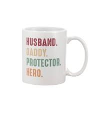 Husband Daddy Protector Hero - 1 DAY LEFT Mug thumbnail